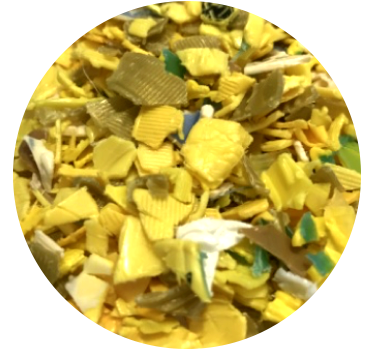 HDPE Yellow Grind
