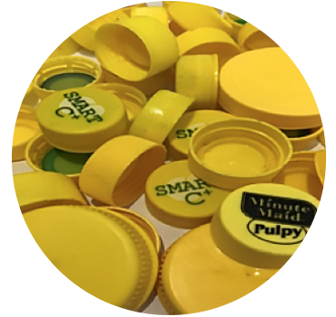 HDPE Yellow Caps